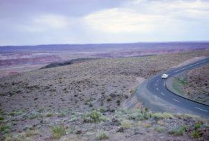 60s desert road