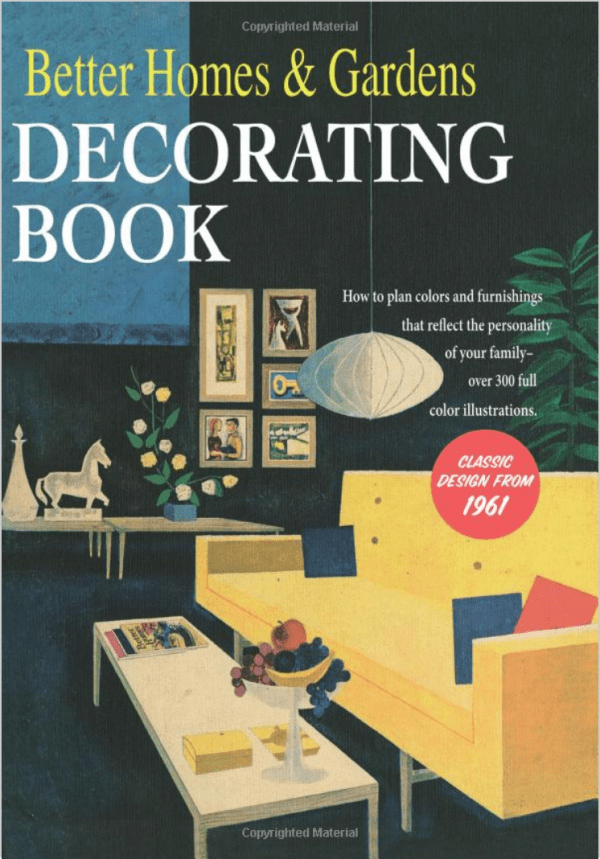 Mid-Century Decorating Book
