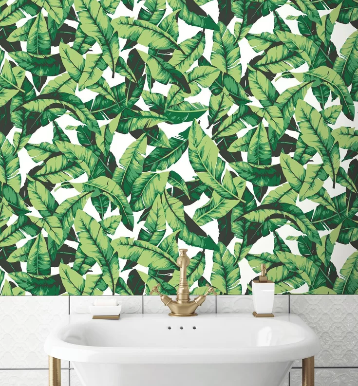mid-century wall decal